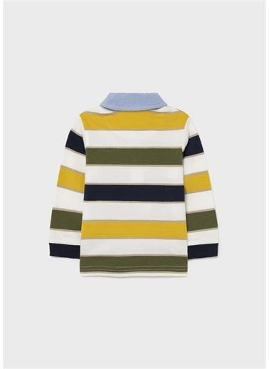 Mayoral Mayoral Erkek Bebek Polo Yaka Sweatshirt Sarı